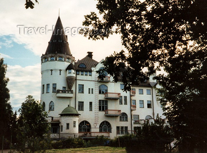 fin15: Finland - Imatra (Etela-Suomen Laani): Hotel - Rantasipi Valtionhotelli - Torkkelinkatu (photo by Miguel Torres) - (c) Travel-Images.com - Stock Photography agency - Image Bank