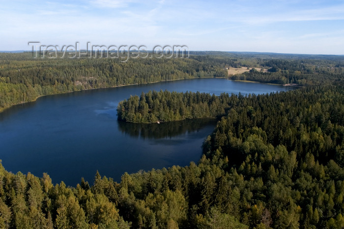 fin150: Finland - Hämeenlinna, Aulanko, Southern Finland province -  Tavastia Proper region - natural reserve and park, Finnish national landscape - meander shapped lake - photo by Juha Sompinmäki - (c) Travel-Images.com - Stock Photography agency - Image Bank
