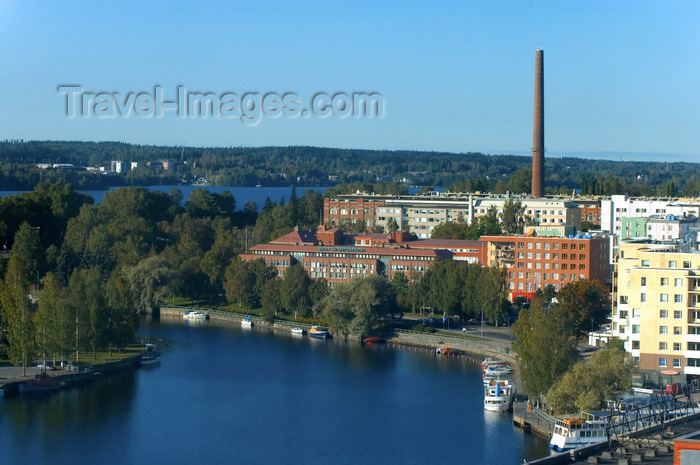 fin155: Finland - Tampere, panorama into the city - photo by Juha Sompinmäki - (c) Travel-Images.com - Stock Photography agency - Image Bank