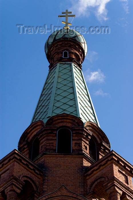 fin157: Finland - Tampere, Western Finland province - Pirkanmaa / Tampere Region - Orthodox church - roof top - photo by Juha Sompinmäki - (c) Travel-Images.com - Stock Photography agency - Image Bank