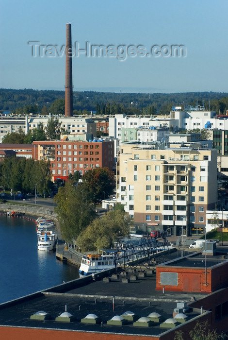 fin158: Finland - Tampere, panorama into the city - photo by Juha Sompinmäki - (c) Travel-Images.com - Stock Photography agency - Image Bank