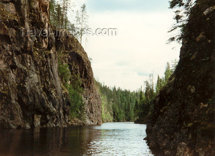 fin16: Finland - Julma Olkky canyon (photo by Miguel Torres) - (c) Travel-Images.com - Stock Photography agency - Image Bank
