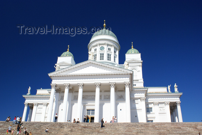 fin161: Helsinki, Finland: Lutheran Cathedral - seat of the Diocese of Helsinki - Suurkirkko / Storkyrkan - photo by A.Ferrari - (c) Travel-Images.com - Stock Photography agency - Image Bank