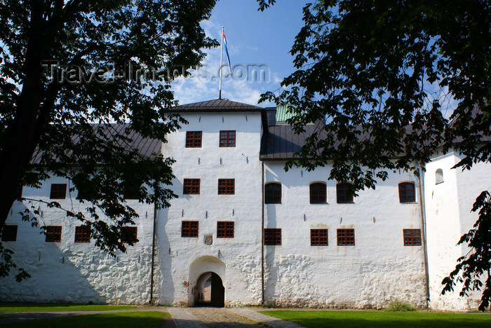 fin173: Turku, Western Finland province - Finland Proper region / Varsinais-Suomi - Finland: entrance gate of Turku medieval castle / Turun linna / Åbo slott - photo by A.Ferrari - (c) Travel-Images.com - Stock Photography agency - Image Bank
