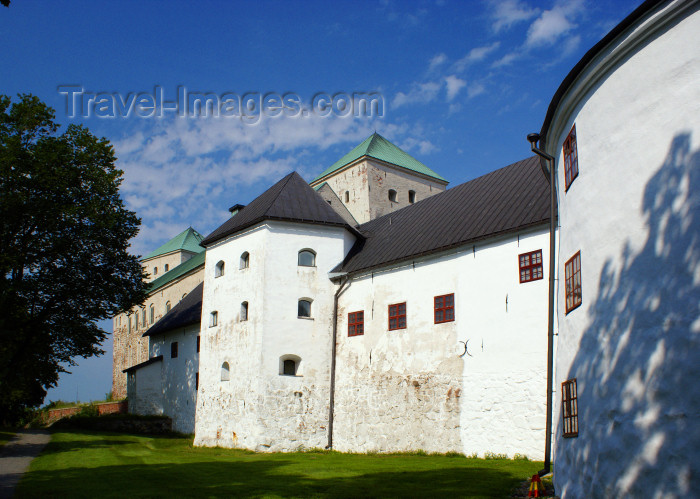 fin174: Turku, Western Finland province - Finland Proper region / Varsinais-Suomi - Finland: exterior of the Renaissance Bailey, from the south - Turku castle / Turun linna / Åbo slott - photo by A.Ferrari - (c) Travel-Images.com - Stock Photography agency - Image Bank