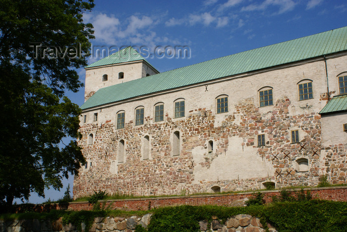 fin175: Turku, Western Finland province - Finland Proper region / Varsinais-Suomi - Finland: medieval keep of Turku castle / Turun linna / Åbo slott - photo by A.Ferrari - (c) Travel-Images.com - Stock Photography agency - Image Bank