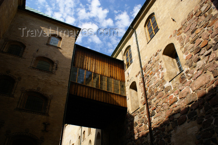 fin178: Turku, Western Finland province - Finland Proper region / Varsinais-Suomi - Finland: passage in the medieval keep of Turku castle / Turun linna / Åbo slott - photo by A.Ferrari - (c) Travel-Images.com - Stock Photography agency - Image Bank