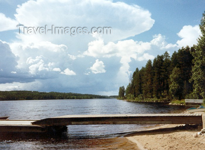 fin7: Finland - South Karelia region: outside - Lake Saimaa(photo by Miguel Torres) - (c) Travel-Images.com - Stock Photography agency - Image Bank