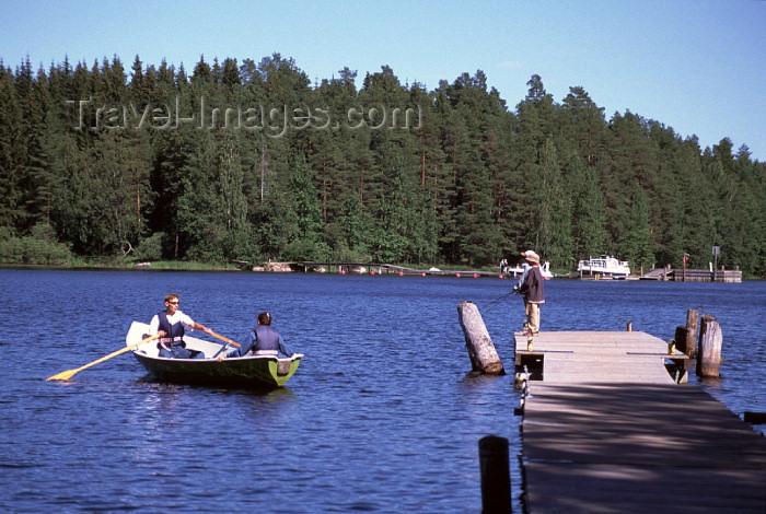fin76: Finland - Kuopio (Ita-Suomen Laani): lake Kallavesi (photo by F.Rigaud) - (c) Travel-Images.com - Stock Photography agency - Image Bank