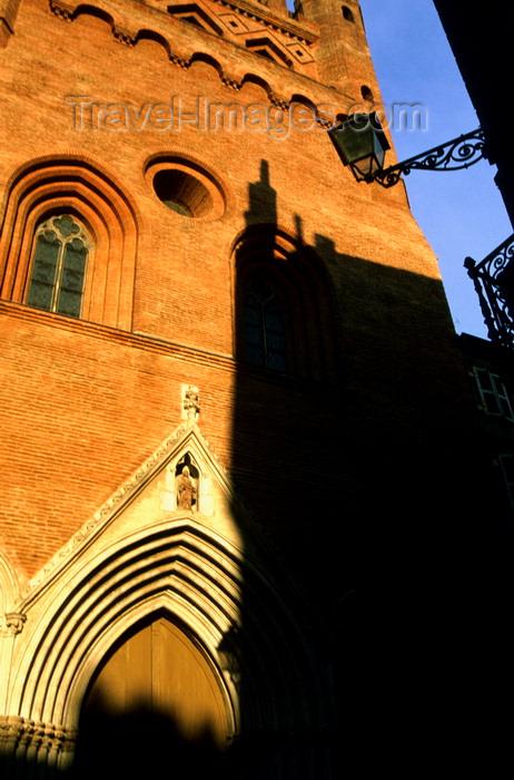 france1021: Toulouse, Haute-Garonne, Midi-Pyrénées, France: church of Notre dame du Taur - photo by K.Gapys - (c) Travel-Images.com - Stock Photography agency - Image Bank