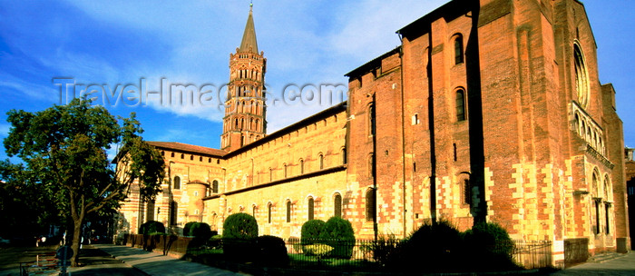 france1022: Toulouse, Haute-Garonne, Midi-Pyrénées, France: Basilica of St. Sernin -  World Heritage Sites of the Routes of Santiago de Compostela in France - photo by K.Gapys - (c) Travel-Images.com - Stock Photography agency - Image Bank