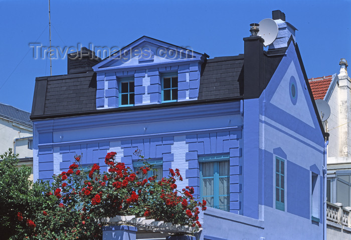 france1105: France - Le Havre (Seine-Maritime, Haute-Normandie): painted house - photo by A.Bartel - (c) Travel-Images.com - Stock Photography agency - Image Bank