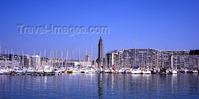 france1120: Le Havre, Seine-Maritime, Haute-Normandie, France: waterfront panorama - photo by A.Bartel - (c) Travel-Images.com - Stock Photography agency - Image Bank