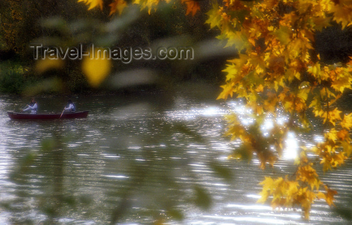 france1135: La Varenne, Val-de-Marne, Ile-de-France: rowing in the Marne river - sun reflections - photo by Y.Baby - (c) Travel-Images.com - Stock Photography agency - Image Bank