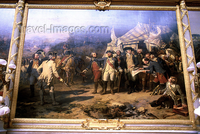 france1176: Versailles, Yvelines département, France: Palace of Versailles / Château de Versailles - Napoleonic wars painting - salon de la Guerre - Hall of War - photo by Y.Baby - (c) Travel-Images.com - Stock Photography agency - Image Bank