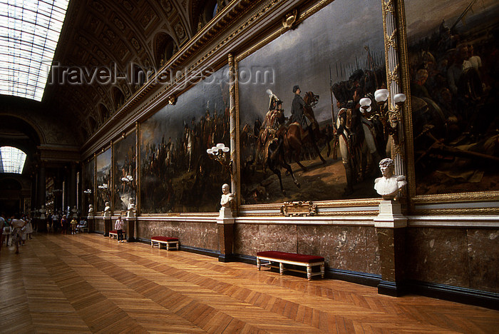 france1177: Versailles, Yvelines département, France: Palace of Versailles / Château de Versailles - gallery with napoleonic wars painting - salon de la Guerre - Hall of War - photo by Y.Baby - (c) Travel-Images.com - Stock Photography agency - Image Bank