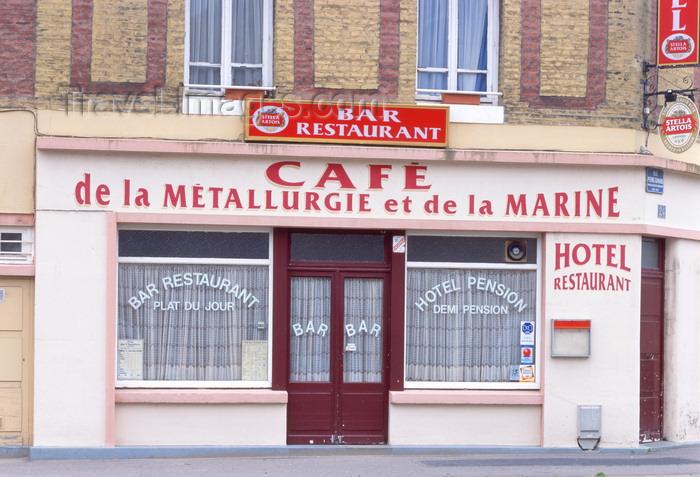 france1225: Le Havre, Seine-Maritime, Haute-Normandie, France: Hotel Restaurant - Cafe de la Metallirgie et de la Marine - photo by A.Bartel - (c) Travel-Images.com - Stock Photography agency - Image Bank