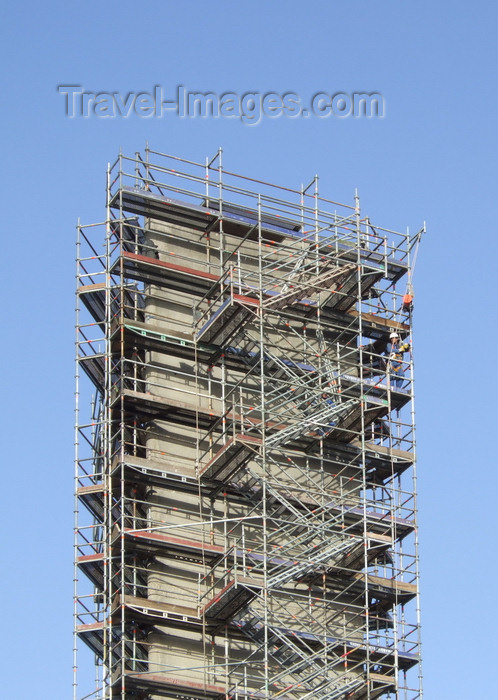 france1231: Le Havre, Seine-Maritime, Haute-Normandie, France: scaffolding, staircase to nowhere - photo by A.Bartel - (c) Travel-Images.com - Stock Photography agency - Image Bank