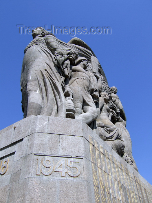 france1238: Le Havre, Seine-Maritime, Haute-Normandie, France: War Memorial - names and 1945 corner - photo by A.Bartel - (c) Travel-Images.com - Stock Photography agency - Image Bank