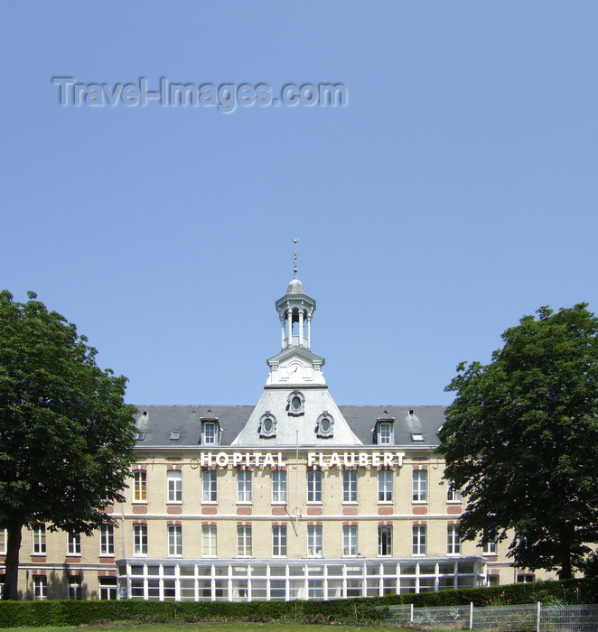 france1239: Le Havre, Seine-Maritime, Haute-Normandie, France: Flaubert Hospital - rue Gustave Flaubert - photo by A.Bartel - (c) Travel-Images.com - Stock Photography agency - Image Bank