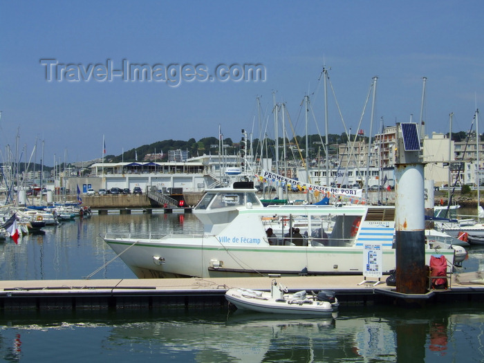 france1245: Le Havre, Seine-Maritime, Haute-Normandie, France: Ville de Fecamp sightseeing boat, Port Tour - Normandy - photo by A.Bartel - (c) Travel-Images.com - Stock Photography agency - Image Bank