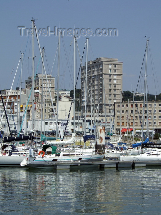 france1246: Le Havre, Seine-Maritime, Haute-Normandie, France: Yacht Harbour - marina - photo by A.Bartel - (c) Travel-Images.com - Stock Photography agency - Image Bank