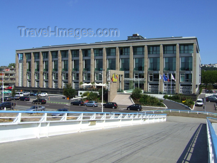 france1248: Le Havre, Seine-Maritime, Haute-Normandie, France: main facade of Casino Le Havre Partouche - Place Jules Ferry - Normandy - photo by A.Bartel - (c) Travel-Images.com - Stock Photography agency - Image Bank
