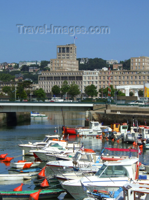france1250: Le Havre, Seine-Maritime, Haute-Normandie, France: Bassin du Roi - small boats - photo by A.Bartel - (c) Travel-Images.com - Stock Photography agency - Image Bank