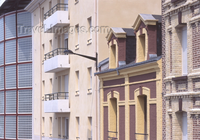france1261: Le Havre, Seine-Maritime, Haute-Normandie, France: various architecture styles - facades - photo by A.Bartel - (c) Travel-Images.com - Stock Photography agency - Image Bank