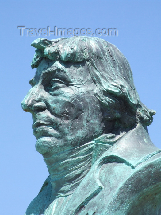 france1275: Le Havre, Seine-Maritime, Haute-Normandie, France: Statue of Nicolas Baudin, French explorer, cartographer, naturalist and hydrographer - photo by A.Bartel - (c) Travel-Images.com - Stock Photography agency - Image Bank