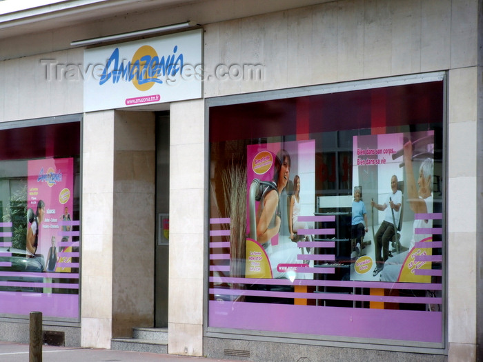 france1305: Le Havre, Seine-Maritime, Haute-Normandie, France: Amazonia, Health Club - Avenue René Coty - photo by A.Bartel - (c) Travel-Images.com - Stock Photography agency - Image Bank
