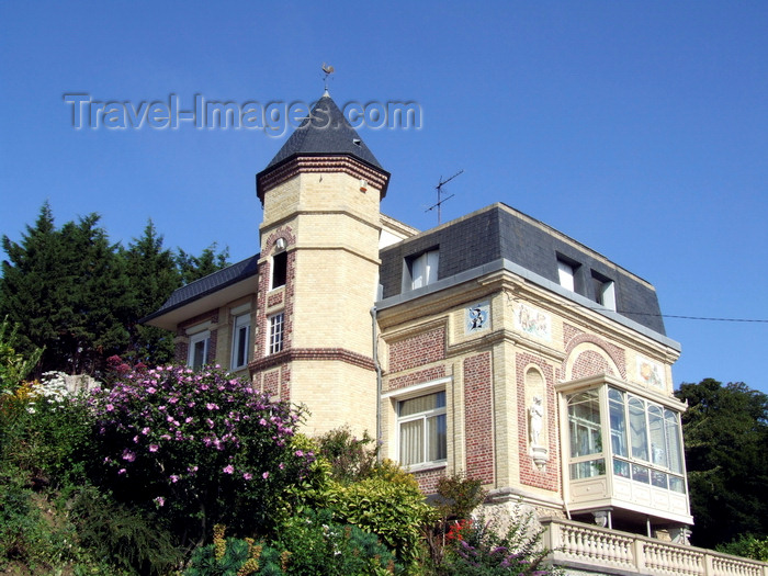 france1315: Le Havre, Seine-Maritime, Haute-Normandie, France: Sarah Bernhardt's villa, Saint-Adresse - rue Herouard- photo by A.Bartel - (c) Travel-Images.com - Stock Photography agency - Image Bank