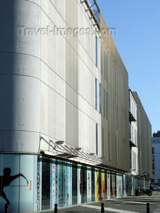 france1325: Le Havre, Seine-Maritime, Haute-Normandie, France: Conservatoire Arthur Honegger - cours la République - architect Jérôme Brunet - photo by A.Bartel - (c) Travel-Images.com - Stock Photography agency - Image Bank