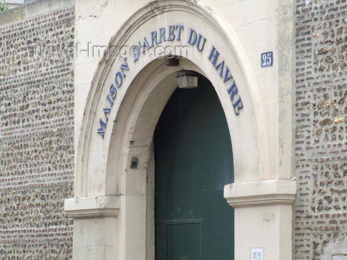 france1328: Le Havre, Seine-Maritime, Haute-Normandie, France: Prison - maison d'arrêt du Havre, rue Lesueur - photo by A.Bartel - (c) Travel-Images.com - Stock Photography agency - Image Bank