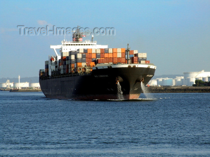 france1345: Le Havre, Seine-Maritime, Haute-Normandie, France: Nyk Loadstar Container Ship - Normandy - photo by A.Bartel - (c) Travel-Images.com - Stock Photography agency - Image Bank