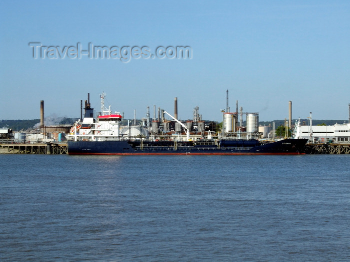 france1350: Le Havre, Seine-Maritime, Haute-Normandie, France: LS Anne - Liquid Chemical Ship, Port Jerome - photo by A.Bartel - (c) Travel-Images.com - Stock Photography agency - Image Bank