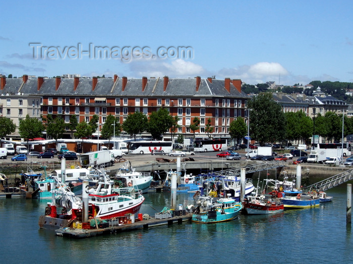 france1352: Le Havre, Seine-Maritime, Haute-Normandie, France: fishing Harbour and residential buildings - photo by A.Bartel - (c) Travel-Images.com - Stock Photography agency - Image Bank