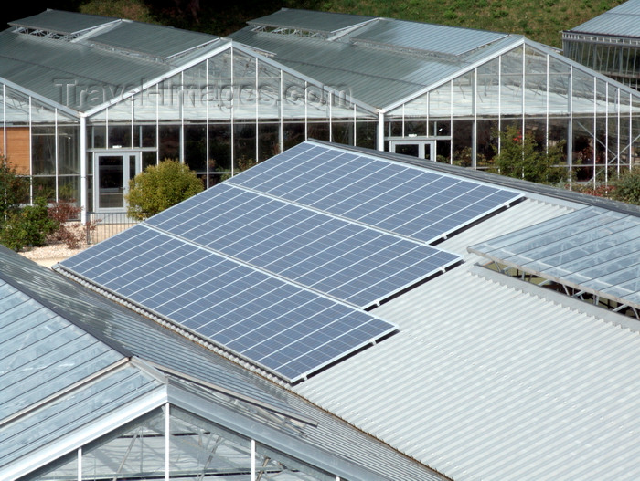 france1384: Le Havre, Seine-Maritime, Haute-Normandie, France: Solar Panels on the roofs of Greenhouses - green energy - Normandy - photo by A.Bartel - (c) Travel-Images.com - Stock Photography agency - Image Bank