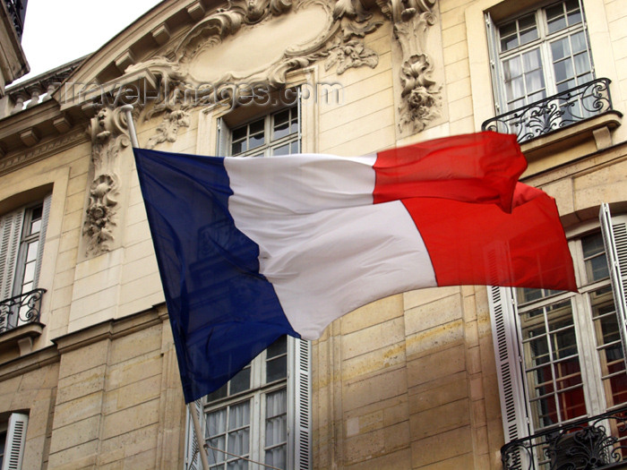 france169: France - Paris: French tri-colour - flag of France - photo by K.White - (c) Travel-Images.com - Stock Photography agency - Image Bank