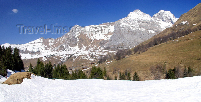 france177: France / Frankreich -  Haute Savoie: in the mountains - photo by K.White - (c) Travel-Images.com - Stock Photography agency - Image Bank