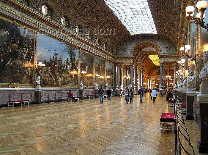 france222: France - Versailles (Yvelines - Ile de France): in the palace - Galleries des Batailles - Unesco world heritage site - photo by J.Kaman - (c) Travel-Images.com - Stock Photography agency - Image Bank