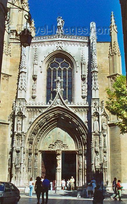 france263: France - Aix-en-Provence (Bouches-du-Rhone / PACA): cathedral of Saint-Sauveur (photo by G.Frysinger) - (c) Travel-Images.com - Stock Photography agency - Image Bank