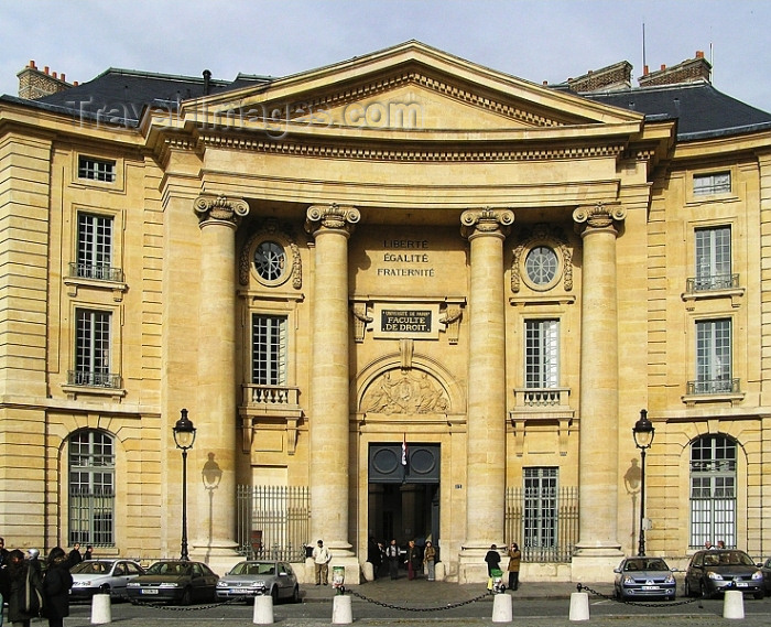france275: France - Paris: Universite de Paris - Faculté de Droit - Law School - photo by J.Kaman - (c) Travel-Images.com - Stock Photography agency - Image Bank