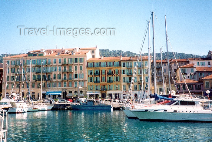 france39: France - Nice (Alpes Maritimes): Bassin Lympia - Quai des Docks - yachts - port - harbor - photo by M.Torres - (c) Travel-Images.com - Stock Photography agency - Image Bank
