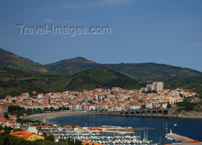 france458: France - Languedoc-Roussillon - Pyrénées-Orientales - Banyuls-sur-Mer- Banyuls de la Marenda - Northern Catalonia - Catalunya Nord - Catalogne Nord - Pays Catalan - photo by T.Marshall - (c) Travel-Images.com - Stock Photography agency - Image Bank