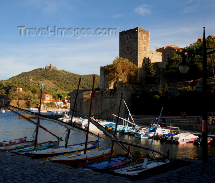 france460: France - Languedoc-Roussillon - Pyrénées-Orientales - Collioure - Cotlliure - old port - photo by T.Marshall - (c) Travel-Images.com - Stock Photography agency - Image Bank