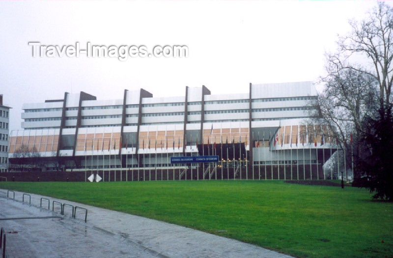 France strasbourg bas rhin alsace palace of europe for Architects council of europe