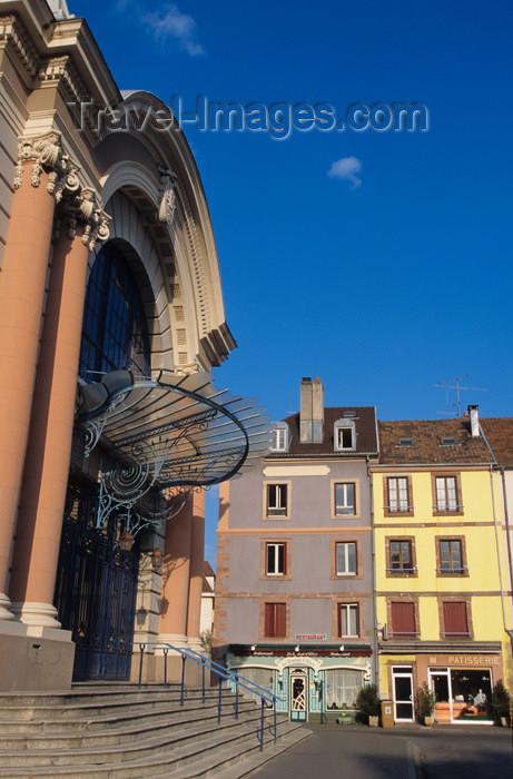 france590: France - Franche-Comté - Belfort - département du Territoire de Belfort: Salle des Fêtes - photo by Y.Guichaoua - (c) Travel-Images.com - Stock Photography agency - Image Bank