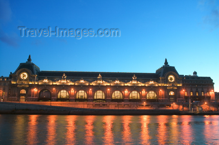 france617: Paris, France: Musée d'Orsay - former Gare d'Orsay - VIIe arrondissement - architect: Victor Laloux - photo by Y.Guichaoua - (c) Travel-Images.com - Stock Photography agency - Image Bank