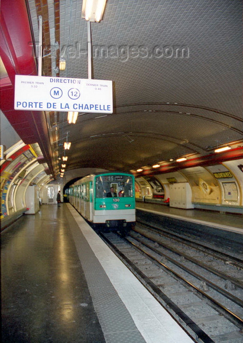 france63: France - Paris: Volontaires metro station - 15th arrondissement - Paris Métro Line 12 - photo by D.Jackson - (c) Travel-Images.com - Stock Photography agency - Image Bank